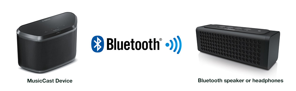 MusicCast with Bluetooth